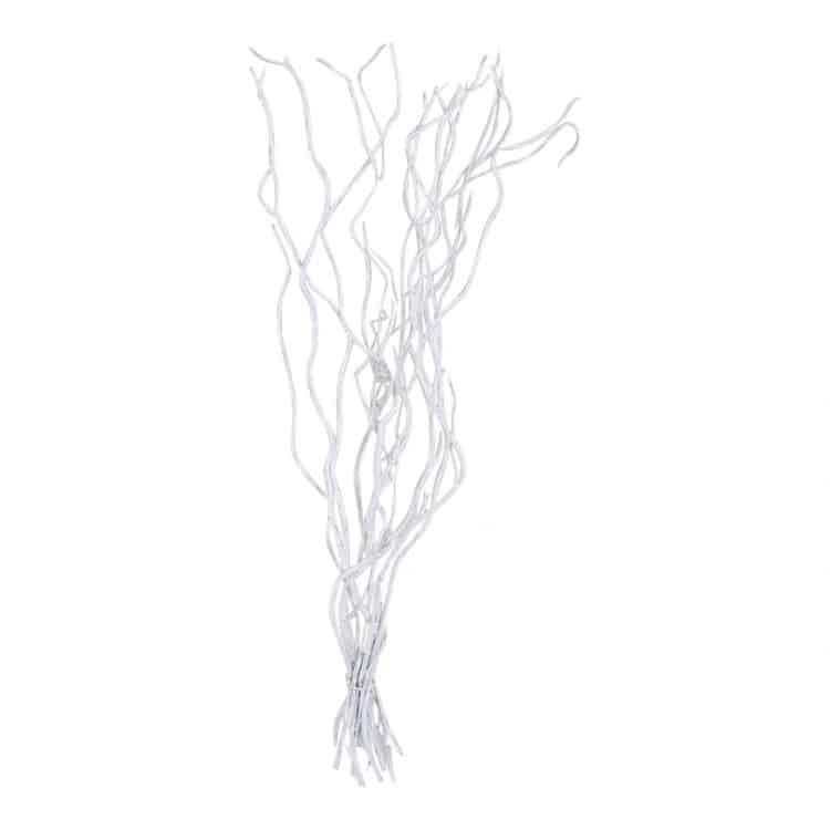 10 Decoratietakken Wit 70 cm