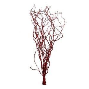 5 Glittertakken Rood 170 cm