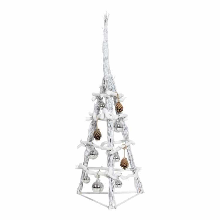 3D Kerstboom White 100 cm