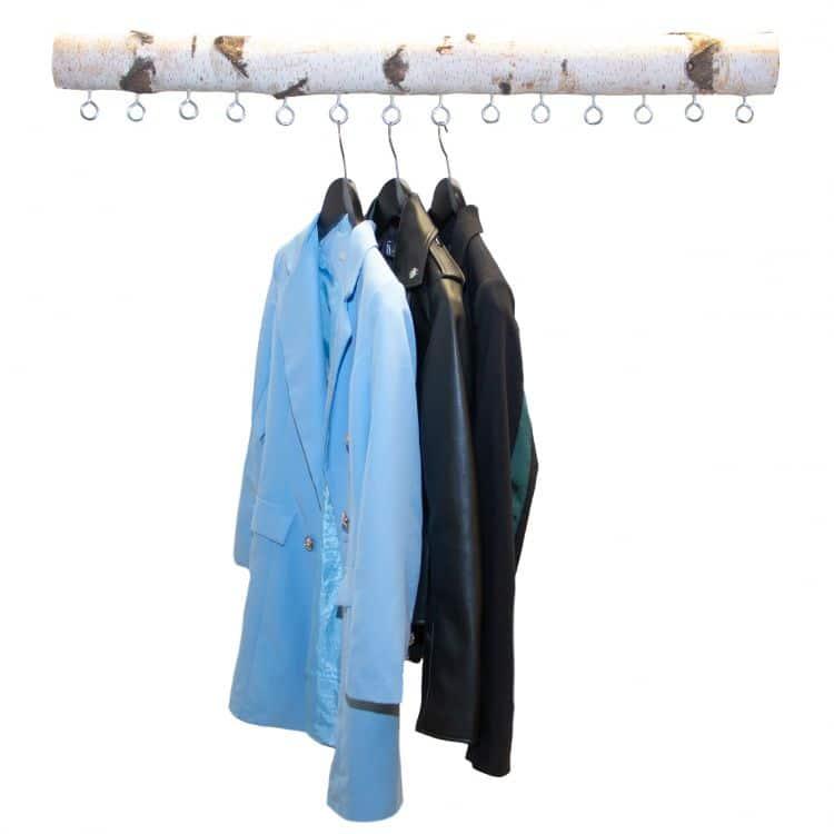 Garderobe berken