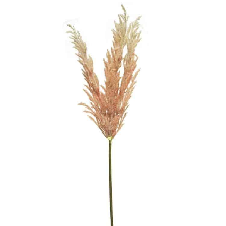 Gras pluim roze 95 cm