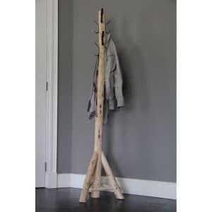 Staande Houten Kapstok  3 poot 170 cm