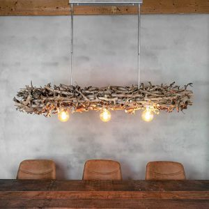 Hanglamp Brocante Perentakken met Frame