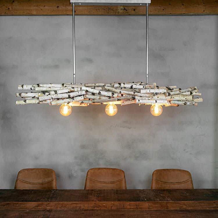 Hanglamp Berkentakken met Frame