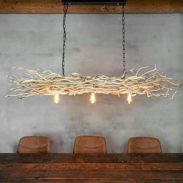 Hanglamp Brocante Takken met Ketting