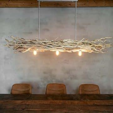 Hanglamp Brocante Takken met Frame