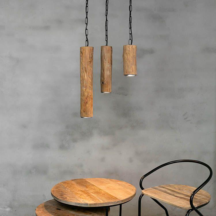 Hanglamp Trio Oak