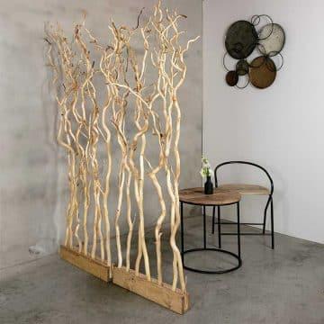 Roomdivider Brocante Takken 60 cm x 165 cm