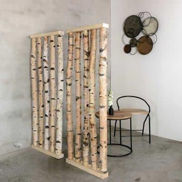 Roomdivider Berk  H 165 x B 60 cm