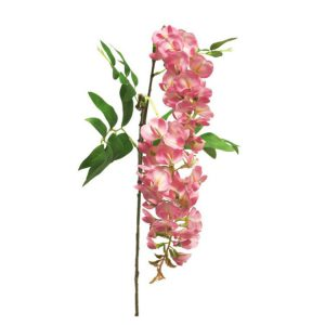 Wisteria Bloemen Roze 95 cm