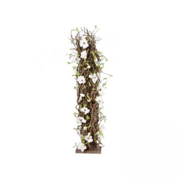 Bloemen Zuil naturel H ± 150 cm