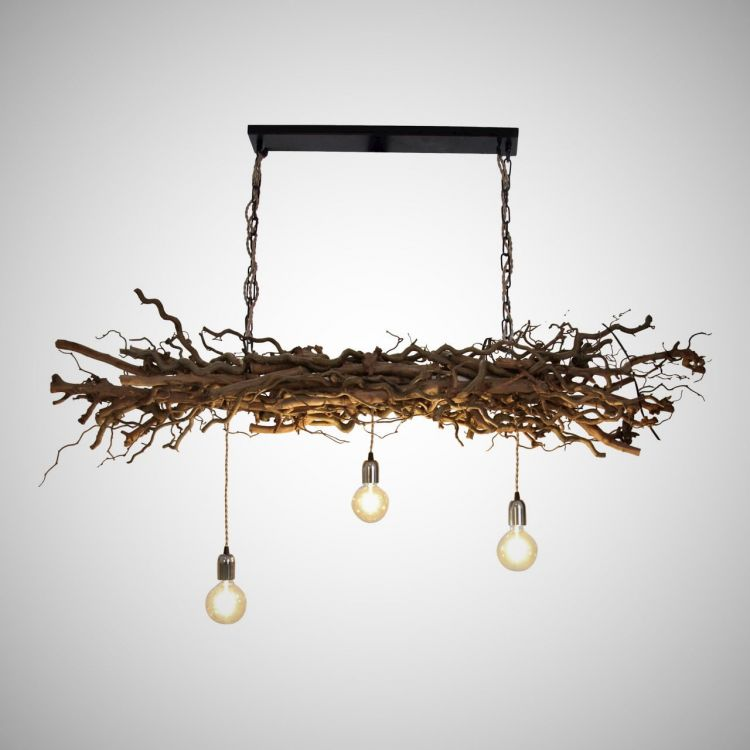 Hanglamp Decoratietakken met Ketting