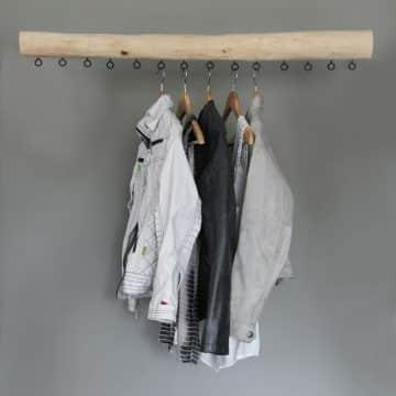 Garderobe Hout