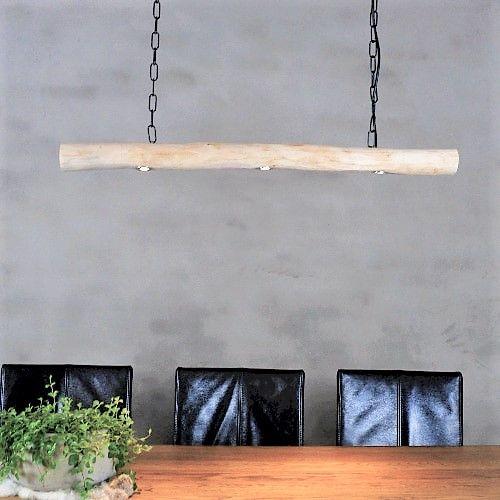 Hanglamp Brocante Stam met LED spotjes
