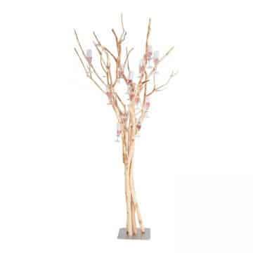 Champagneboom Brocant 170 cm op voet met 25 haakjes