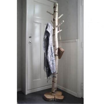 Staande Boomstam Kapstok Berk 170 cm