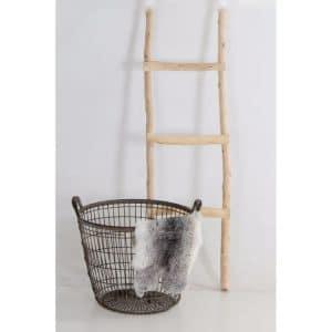 Decoratie Ladder Brocant 100 cm