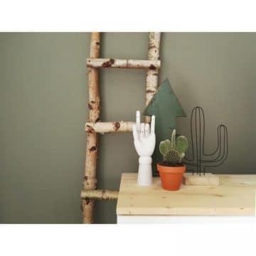 Decoratie Ladder Berk 100 cm