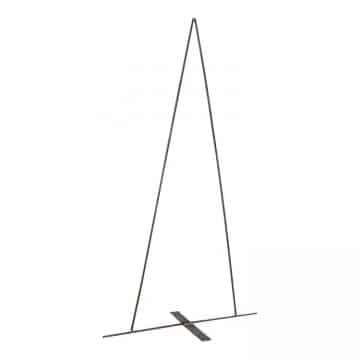 Bloemschik Frame Driehoek/Kerstboom 85 cm