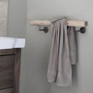 Houten Handdoek Rek