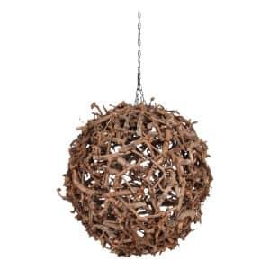 Bollamp Wood 70 cm