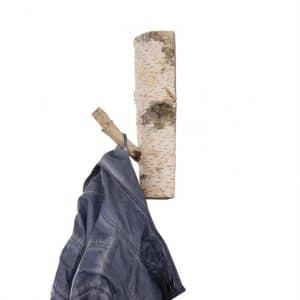 Garderobe  Haak Berken 25 cm