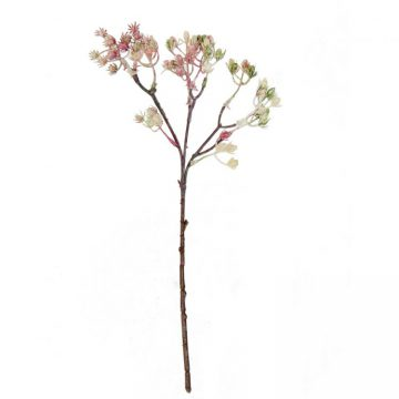 Bloemen besjes Roze - Groen
