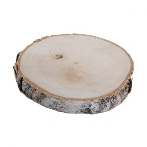 1 Houtschijf 35-40 cm (gladde afwerking)