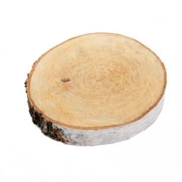 1 Houtschijf 30-35 cm