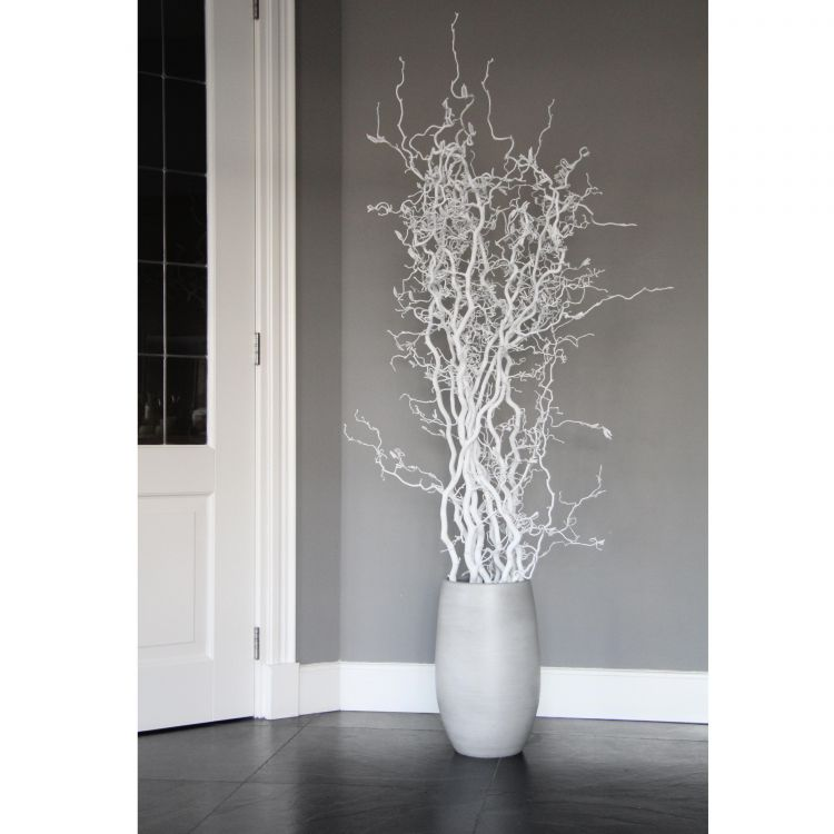 Set Witte Kronkeltakken 165 cm (excl. pot)