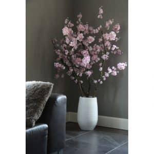 Roze Bloesemboom Dubbel ± 150 cm (excl. pot)