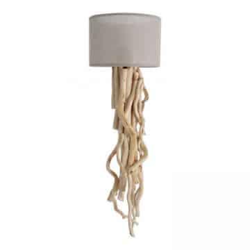 Wandlamp Brocante Takken met keuze kleur Lampen Kap