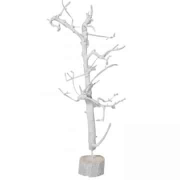 Wit Boompje op Voetstuk 110 cm