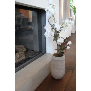 Wit Bloesemboompje ± 70 cm (excl. pot)