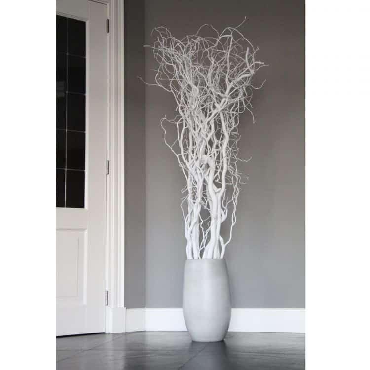 Set Witte Decoratietakken 165 cm (incl. pot)