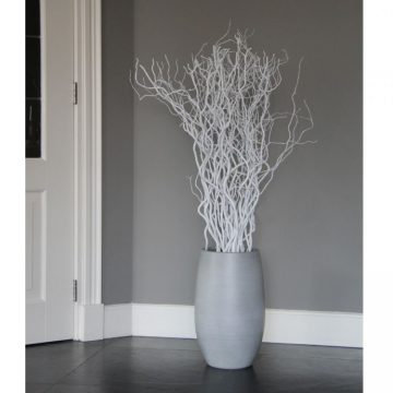 Set Witte Decoratietakken 120 cm (incl. pot)