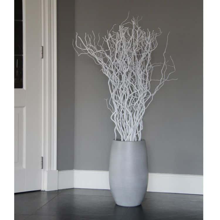 Set  Witte Decoratietakken 120 cm (excl. pot)