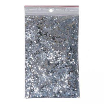 Zakje Glitters Zilver grof